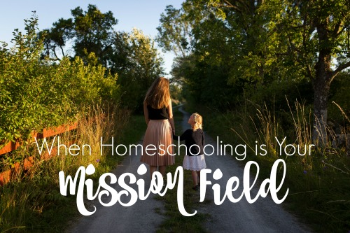 When Homeschooling is Your Mission Field