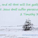 Everyone that Lives a Godly Life will Suffer Persecution